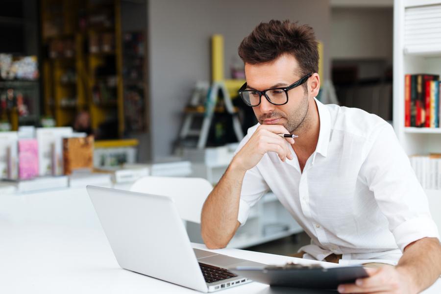 сидячая работа у мужчин
